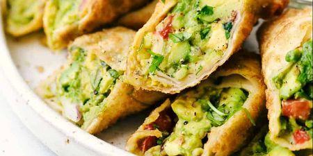 Avocado rolls: Ένα ορεκτικό που μπορείς να φας καθόλη τη διάρκεια της ημέρας