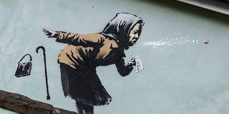 Σε δημοπρασία έργο του Banksy που αναμένεται να πωληθεί για 12-18 εκατ. δολάρια