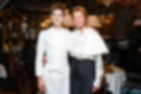 Шеф-повар Робан Каснабе и основательница ресторана Citronelle Мария Дидковская. Фото: Citronelle