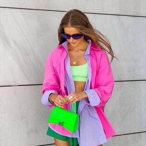 Θέλουμε να προσθέσουμε το φούξια στις all-day εμφανίσεις μας και οι top fashionistas μας δείχνουν το πώς