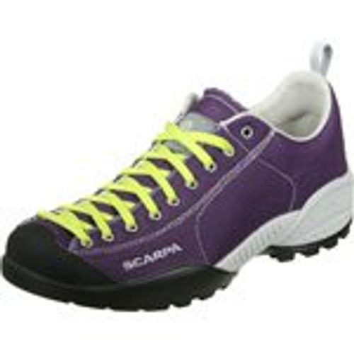 photo Wallpaper of Scarpa-Scarpa Mojito Fresh Approachschuhe Dk Violet/lime-Lila