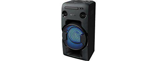 photo Wallpaper of Sony-Sony MHC V11 Leistungsstarkes One Box Soundsystem (470 Watt Ausgangsleistung,-Schwarz