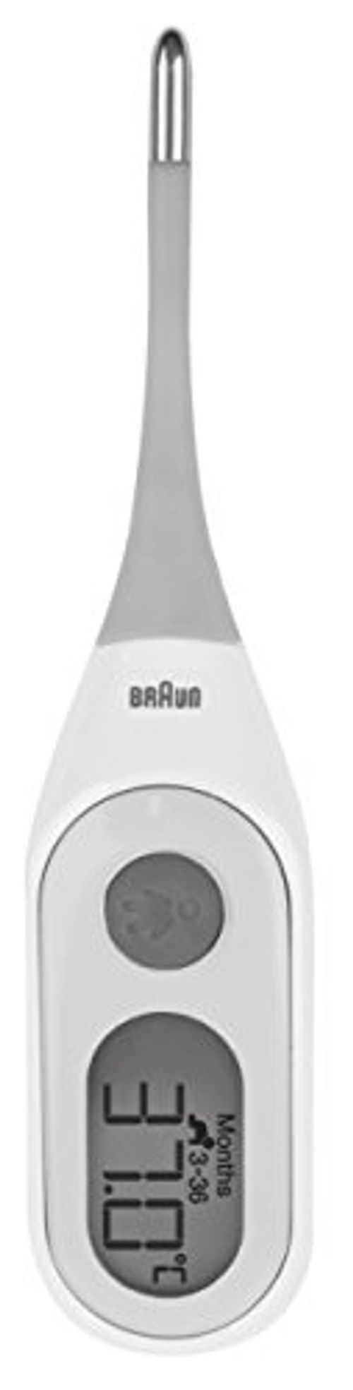 photo Wallpaper of Braun-Braun PRT2000 Termómetro Digital Con Age Precision-Blanco