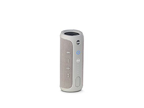 photo Wallpaper of JBL-JBL Flip 3 Spritzwasserfester Tragbarer Bluetooth Lautsprecher Mit Außerordentlich Kraftvollem Klang-Grau