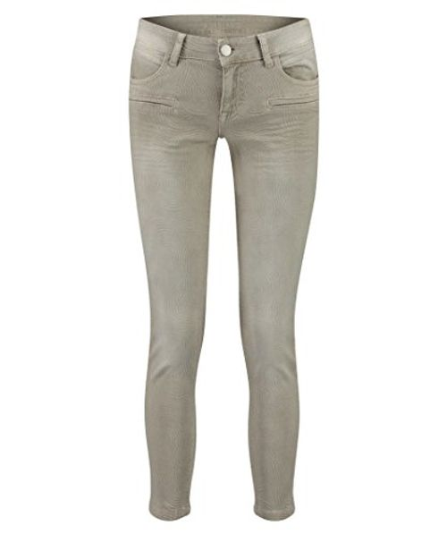 photo Wallpaper of BlueFire-BlueFire Damen Hose Alicia Super Tight Jacquard Skinny Fit Sand-Sand