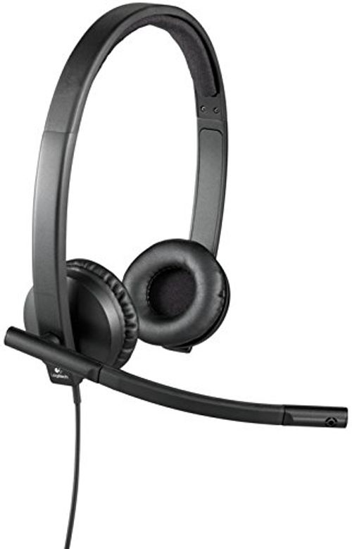 photo Wallpaper of Logitech-Logitech H570e Stereo Headset USB-Schwarz