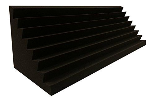 photo Wallpaper of Dibapur ®-Bass Trap Absorber Lamellen (Pyramiden) Profil (Performance Ca. 100x30x30cm)-