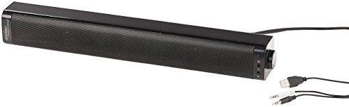 photo Wallpaper of auvisio-Auvisio Mini Soundbar Für PC: PC Stereo Soundbar Mit Bluetooth-