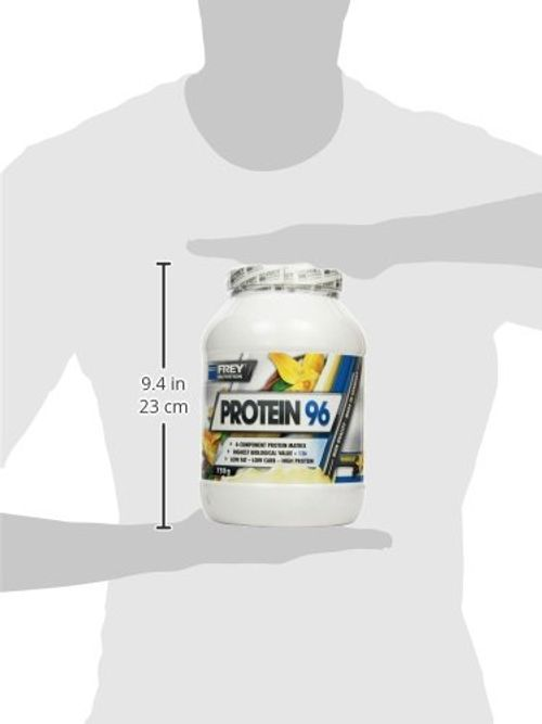 photo Wallpaper of Frey Nutrition-Frey Nutrition Protein 96 Vanille Dose, 1er Pack (1 X-