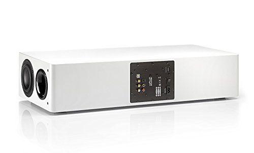 photo Wallpaper of Nubert-Nubert NuPro AS 250 Aktive Soundbar/TV Lautsprecher 2.5 Wege (4x-Schleiflack Weiß