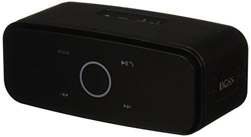 photo Wallpaper of DOSS-Doss Soundbox Portable Wireless Bluetooth Lautsprecher Subbass Leistungsstarker 12Watt Mit Touch Sensible,-Schwarz