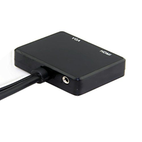 photo Wallpaper of Chenyang-Chenyang HDMI Zu VGA & HDMI Buchse Splitter Mit Audio Video Kabel-