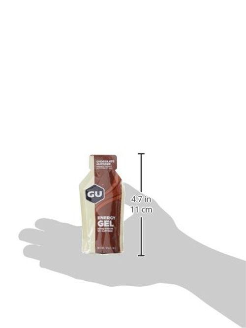photo Wallpaper of GU-GU Energy Gel, Chocolate Outrage (Schokolade), Box Mit 24 X 32 G-