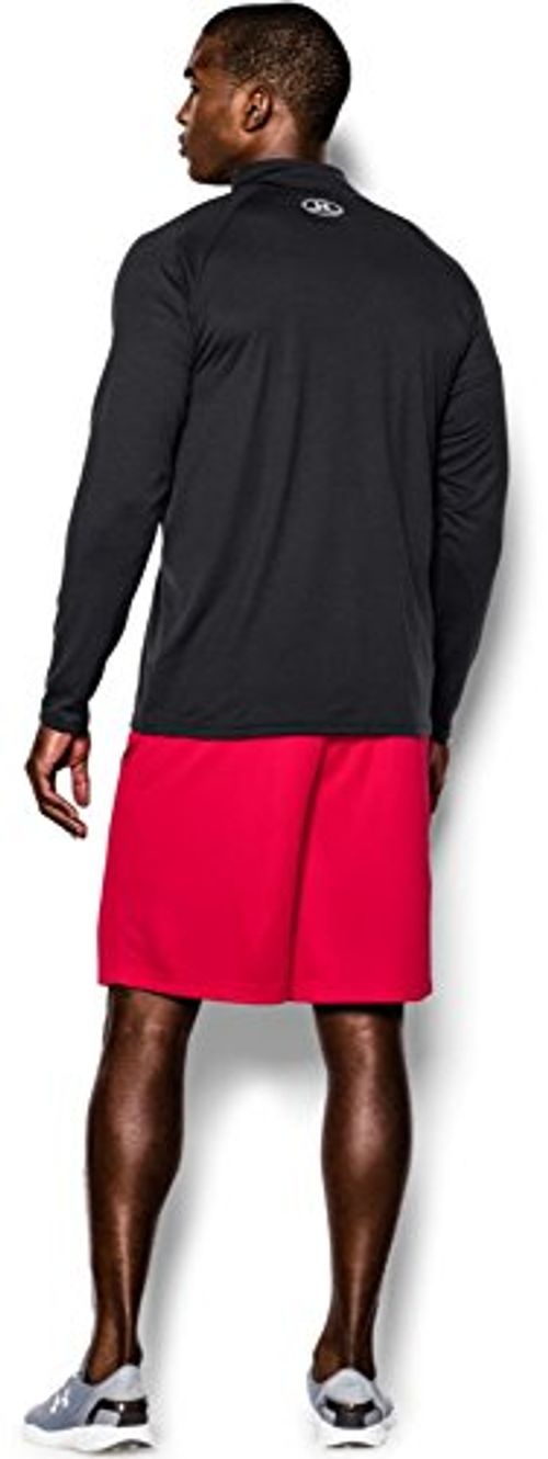photo Wallpaper of Under Armour-Under Armour Herren Fitness Sweatshirt UA Tech 1/4 Zip, Schwarz-Schwarz (Black)