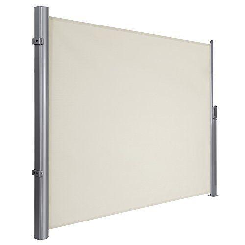 photo Wallpaper of SONGMICS-SONGMICS 160 X 300 Cm (H X L) Seitenmarkise Für Balkon Und Terrasse,-beige 160 x 300 cm