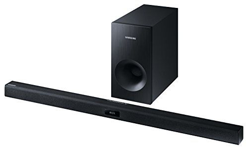 photo Wallpaper of Samsung-Samsung HW J355 2.1 Soundbar (120W, Passiver Subwoofer, Bluetooth) Schwarz-schwarz