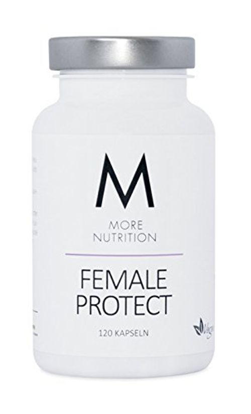 photo Wallpaper of M MORE NUTRITION-More Nutrition Female Protect   Nahrungsergänzung Für Frauen. 1 X 120 Kapseln-