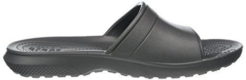 photo Wallpaper of crocs-Crocs Classic Slide, Unisex   Erwachsene Sandalen, Grau (Slate Grey), 39/40-Grau (Slate Grey)