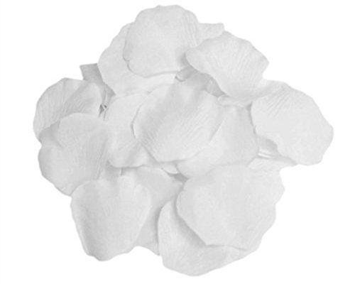 photo Wallpaper of Doutop-Doutop 1000 Stück Rosenblüten Rosenblätter Künstliche Seiden Blumenblätter Seidenblumen Streudeko Für-Weiß