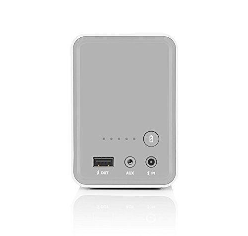 photo Wallpaper of Braven-BRAVEN 805 HD Tragbarer, Aufladbarer Bluetooth Lautsprecher Mit Integriertem Akku (4.400mAh) Zum Laden Von-weiß