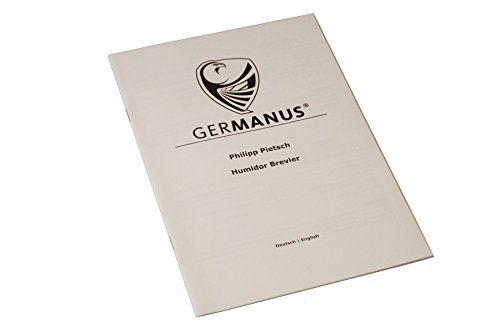 photo Wallpaper of GERMANUS-GERMANUS EBENUM Humidor Con Higrómetro Digital Y GERMANUS Crystal Humidificador-Marrón