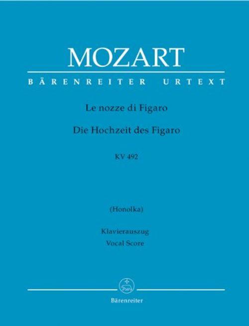 photo Wallpaper of Baerenreiter Verlag-Le Nozze Di Figaro (Die Hochzeit Des Figaro) KV 492 Opera Buffa-