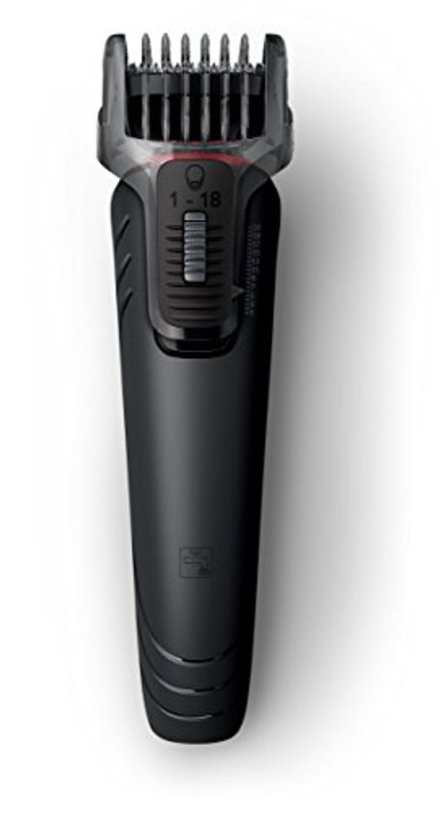 photo Wallpaper of Philips-Philips Multigroom 1000 QG410/16   Recortador Y Barbero, 2 Peines,-Negro, Rojo