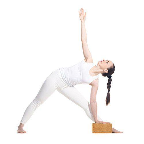 photo Wallpaper of AMITYUNION-Yogablock Kork Set 2 Aus 100% Natur   Hatha Klotz -Doppel Set - 75mm Stärke