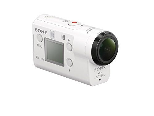 photo Wallpaper of Sony-Sony FDR X3000RFDI 4K Action Cam (mit RM LVR3 Live View Remote-Weiss