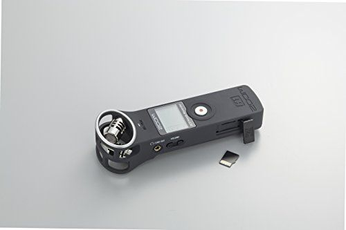 photo Wallpaper of Zoom-Zoom H1 Handy Recorder   Matt Schwarz-matte black