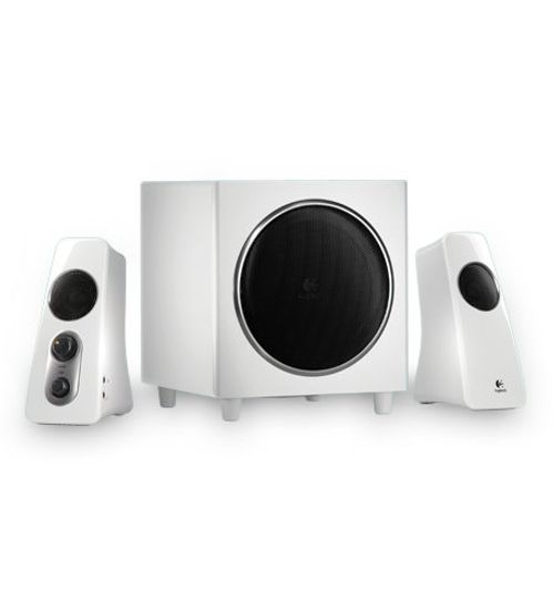 photo Wallpaper of Logitech-Logitech Z523 2.1 Lautsprechersystem 40 W RMS Weiß-weiß