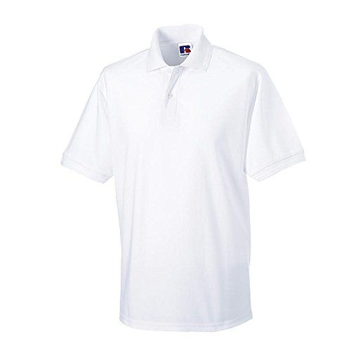 photo Wallpaper of Russell-Russell   Robustes Pique Poloshirt   Bis Gr. 6XL-White