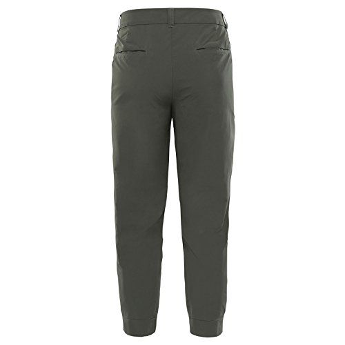 photo Wallpaper of The North Face-The North Face Damen Outdoor Hose Inlux Cropped Outdoor Pants-Grape Leaf