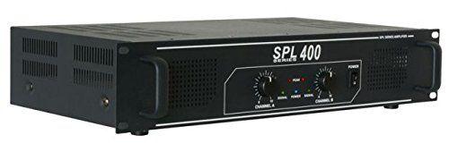 photo Wallpaper of Skytec-Skytec SPL 400 Haus Verkabelt Schwarz   Audioverstärker (400 W, 0,5%,-Schwarz