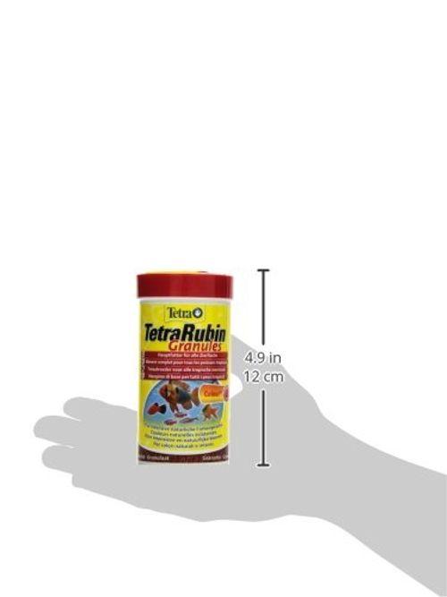 photo Wallpaper of Tetra-TetraRubin, Hauptfutter In Granulatform Mit Natürlichen Farbverstärkern Für Zierfische, Für Intensive Farbenpracht,-Granules 250 ml
