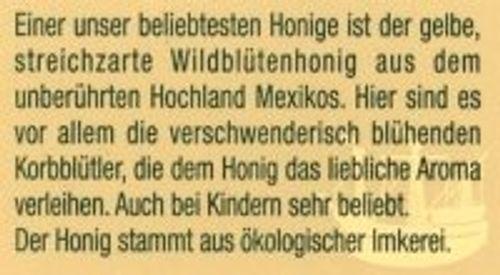 photo Wallpaper of Rüdiger Feldt Honig-Wildblüten Honig, Hochland Mexicos, Mild, Streichzart, 500g-