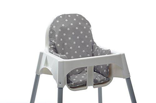 photo Wallpaper of Messy Me-Cojin Para Trona Ikea Antilop. Facil De Instalar Y Lavar Después De Las Comidas.-Grey Star