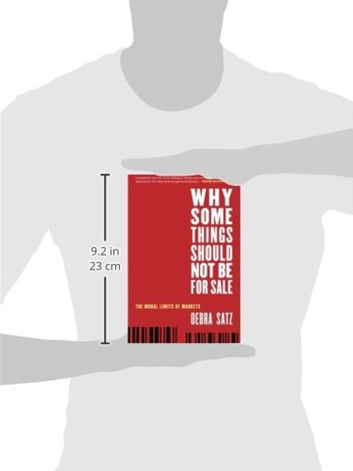 photo Wallpaper of -Why Some Things Should Not Be For Sale: The Moral Limits Of Markets (Oxford-