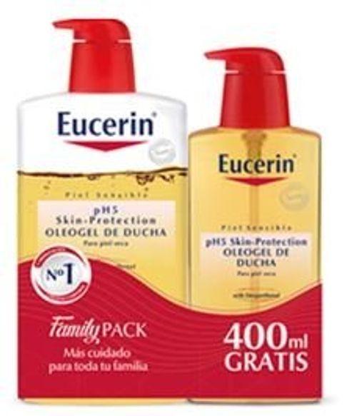 photo Wallpaper of Eucerin-EUCERIN OLEOGEL DE DUCHA 1L+ECOPACK 400 ML-