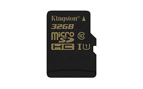 photo Wallpaper of Kingston-Kingston SDCA10/32GB MicroSD/SDHC 32GB Speicherkarte Mit Adapter (UHS 1, 90Mbps Lesegeschwindigkeit, 45Mbps-Schwarz