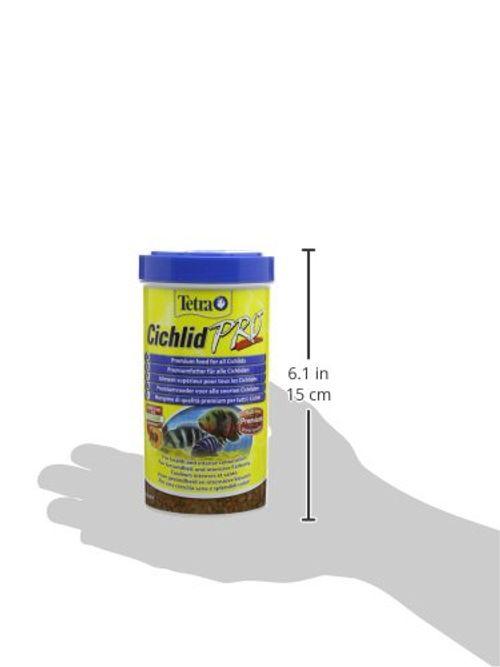 photo Wallpaper of Tetra-Tetra Cichlid Pro Premiumfutter (für Cichliden Mit Natürlichen Farbverstärkern, Minimale Wasserbelastung,-