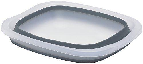 photo Wallpaper of Progressive-Eddington Collapsible Washing Up Bowl-Gris (Gray/Frost)