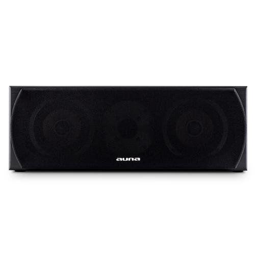 photo Wallpaper of auna-Auna Linie 501CS BK 60W Black Loudspeaker–Loudspeakers (2 Way, 2.0Channels,-schwarz