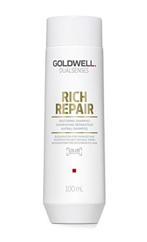 photo Wallpaper of Goldwell-Goldwell Dualsenses Rich Repair Restoring Shampoo 100 Ml Reparierendes Shampoo-