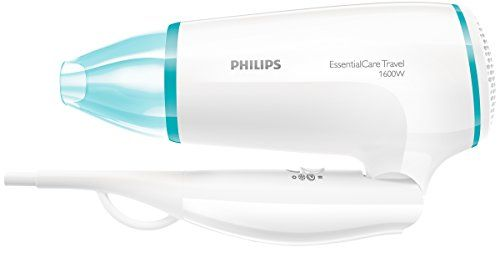 photo Wallpaper of Philips-Philips BHD006   Secador Essential Care Travel 1600W, 3-Blanco