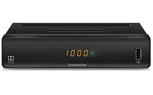 photo Wallpaper of Thomson-THOMSON THC300 HD Kabelreceiver Für Digitales Kabelfernsehen DVB C Mit Teletext-schwarz