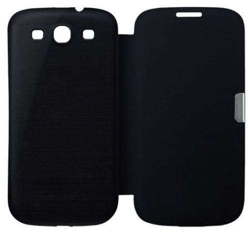 photo Wallpaper of Q1-Samsung Galaxy S3 Mini I8200n I8190 Flip Cover Schwarz / Black Hülle-