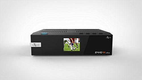 photo Wallpaper of AXAS-Axas E4HD 4K Ultra HD Linux E2 S2X HDTV Sat IP USB 3.0-