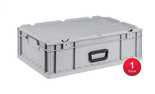 photo Wallpaper of ab-in-die-BOX-Ab In Die BOX Eurobox NextGen Portable, 600x400x170mm, 1 St.-Grau