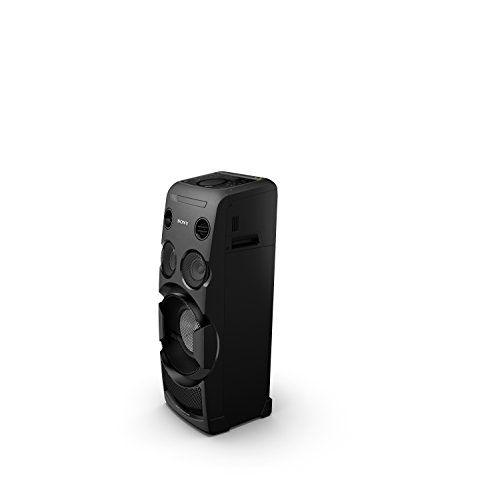photo Wallpaper of Sony-Sony MHC V50D All In One High Power Audio System Mit Partylichteffekten Und-Schwarz